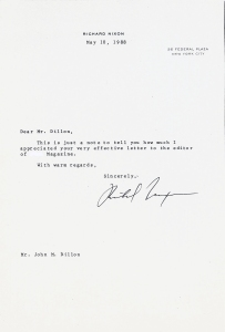 Nixon-letter