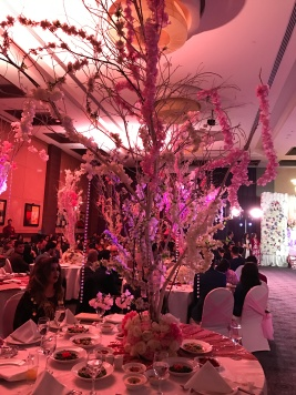 A Wedding reception at the Hotel